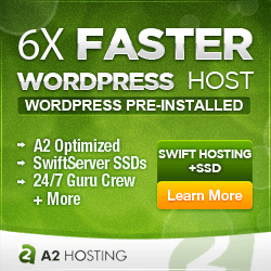 A2 hosting - 6x faster WordPress hosting